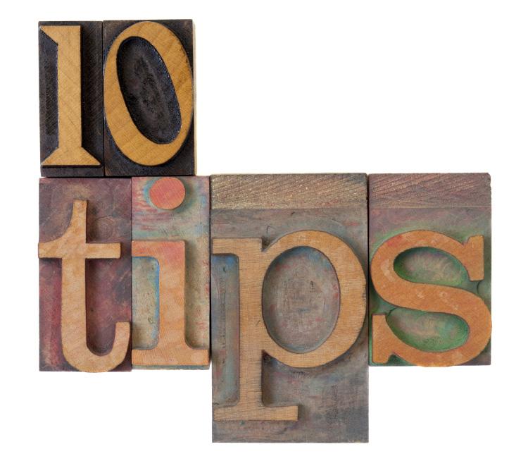 Ontvang gratis 10 tips hoe je beter kan adverteren - online of in het blad