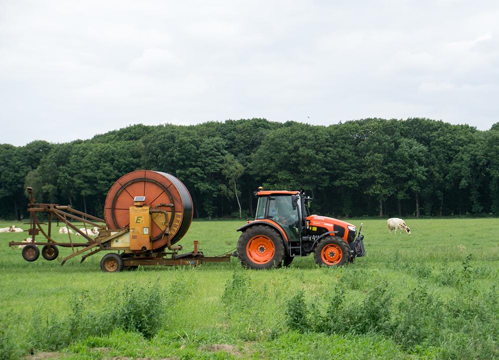 Melkveehouder Jan Keijzers in Vlierden - Klant van Lammers Machinery in Deurne (3)