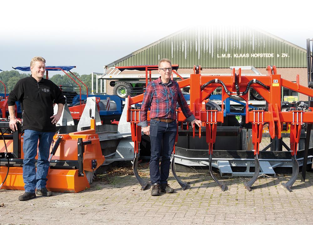 Hier werk ik - Jan & Albert Hofstede - Klaas Hofstede landbouwmechanisatie in Staphorst