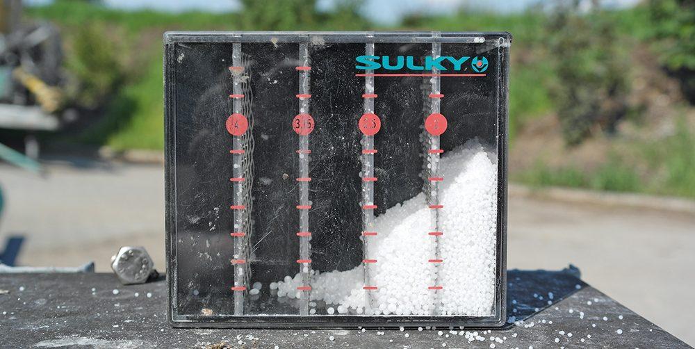 Duurtest van de Sulky X40 mestverspreider Agri Trader (16)