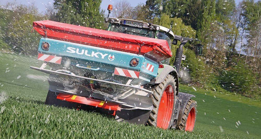 Duurtest van de Sulky X40 mestverspreider Agri Trader (9)