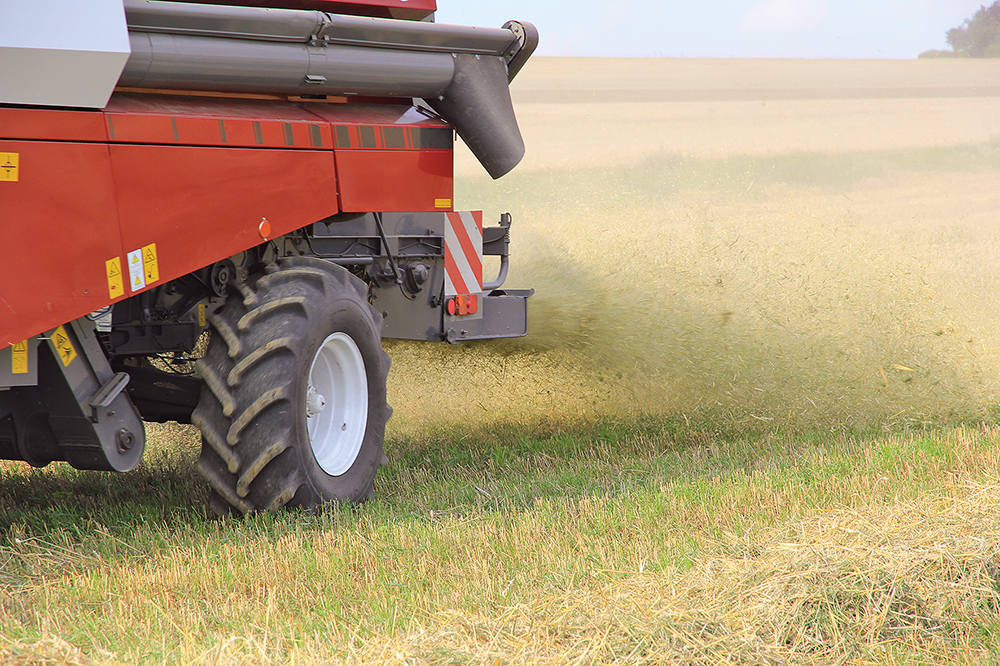 Rostselmash Vector 420 - Kleine maaidorser met grote trommel - Agri Trader (5)