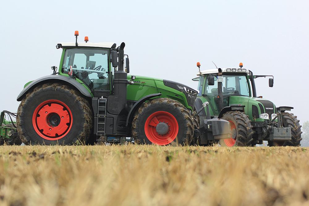De terugkeer van de cilinderinhoud - Fendt 1000 Vario - Agri Trader Testjaarboek (22)