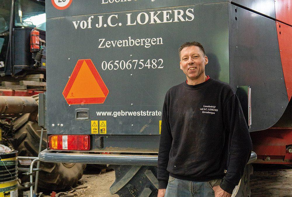 Loonbedrijf Lokers in Zevenbergen – Klant van Gebroeders Weststrate in Krabbendijke