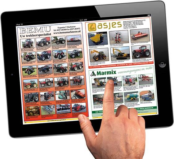 Agri Trader is ook beschikbaar op iPad of Android tablet