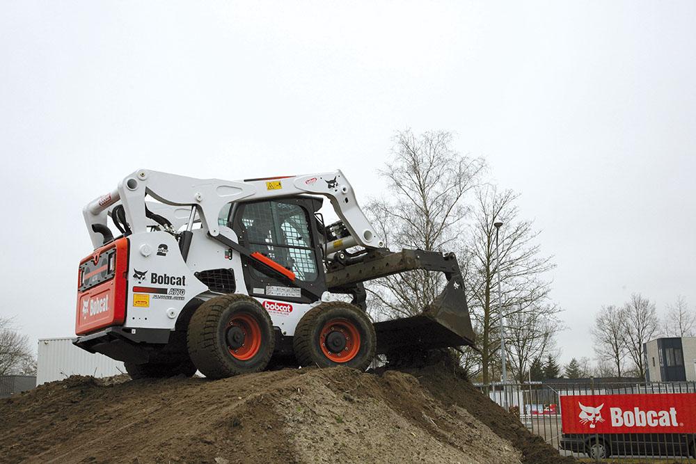 Bobcat A770 schranklader getest bouwmachines (3)
