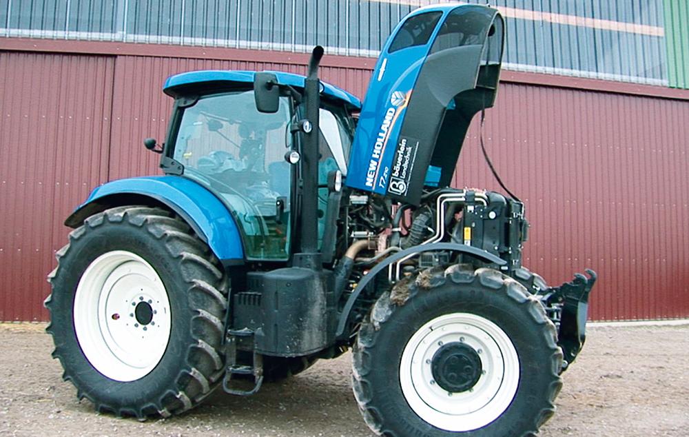 De New Holland T7.210 getest - een traploze blauwe (5)