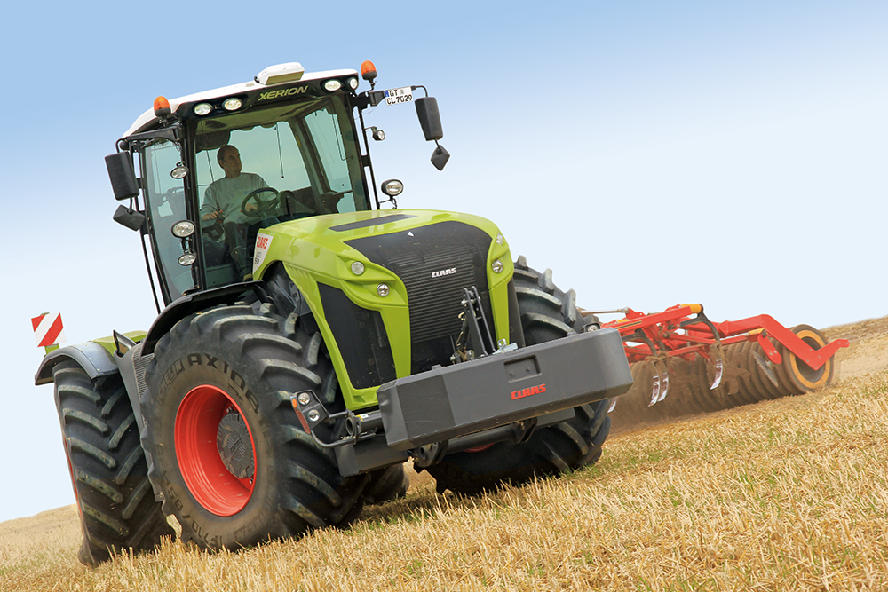 De troonopvolger - Claas Xerion 4000 - Agri Trader (19)