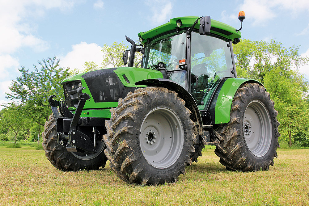 Deutz-Fahr Serie 5 | Sterk in de breedte