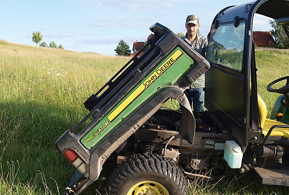 Een echte werkezel – John Deere Gator XUV 855D getest