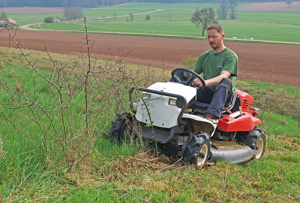 Hercules hoog grasmaaier RM 980 F 4WD getest – extreem goed