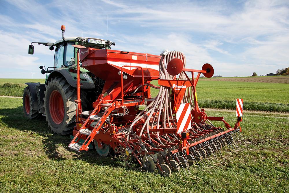 Keurig neergelegd – aanbouw zaaicombinatie Kverneland Accord getest