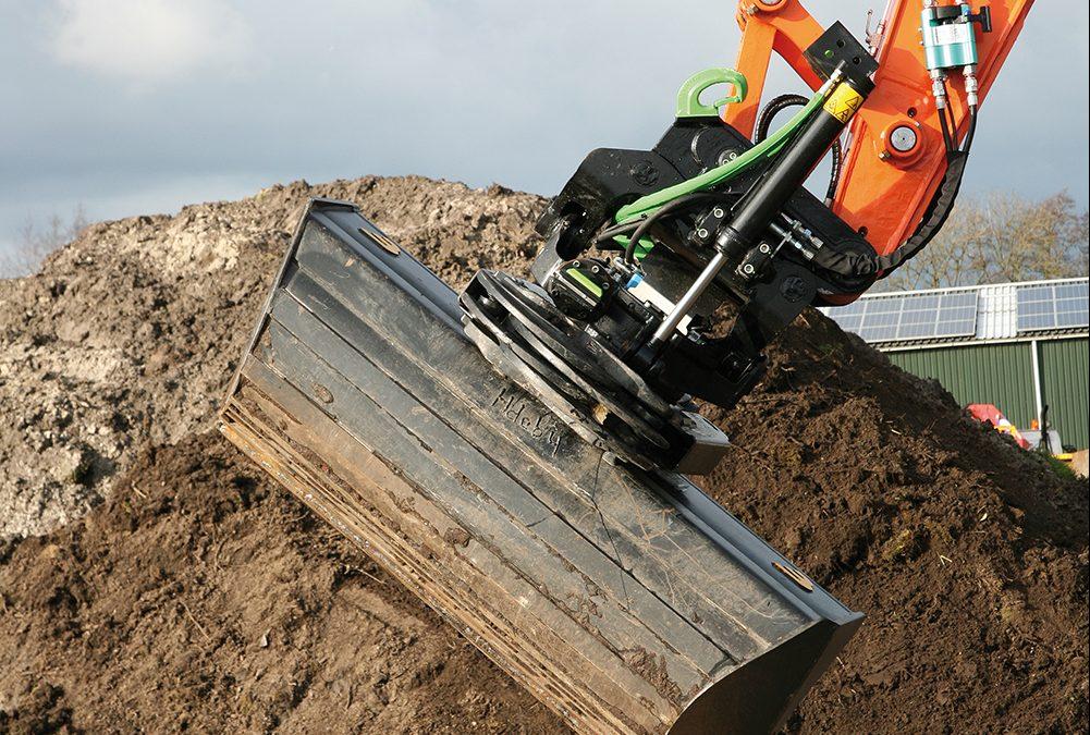 Steelwrist tiltrotator: hogere winst en grotere veiligheid door meer efficiency