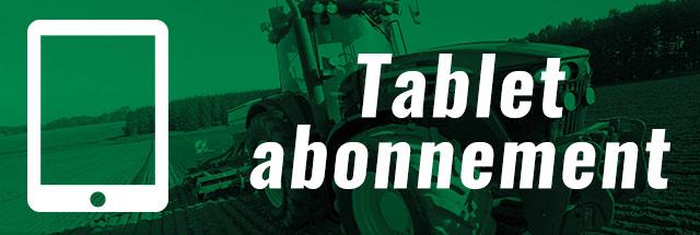 De digitale versie van Agri Trader op je tablet