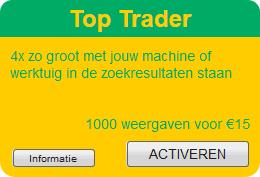 Top Trader optie bij Agri Trader - 4x zo groot adverteren